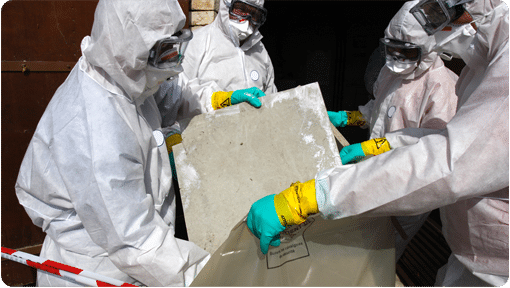 Picture of Workers Removing Asbestos